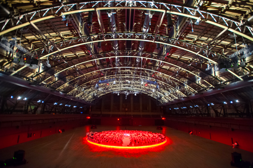 Karlheinz-Stockhausen-and-Rikrit-Tiravanija-Oktophonie-Installation-View-via-Park-Avenue-Armory-3