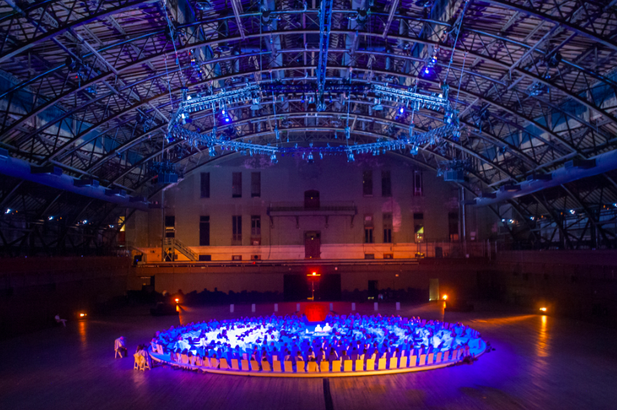 Karlheinz-Stockhausen-and-Rikrit-Tiravanija-Oktophonie-Installation-View-via-Park-Avenue-Armory-4