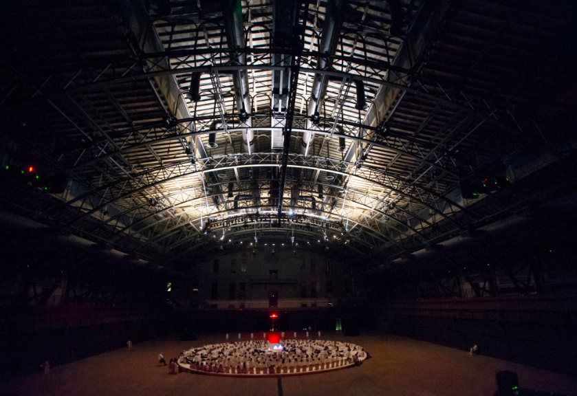Karlheinz-Stockhausen-and-Rikrit-Tiravanija-Oktophonie-Installation-View-via-Park-Avenue-Armory-6
